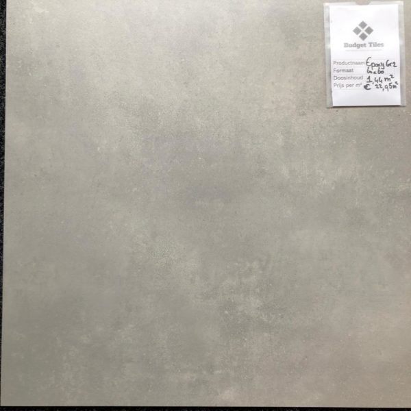 Epoxy Grey 2 60x60 vloer en wandtegels