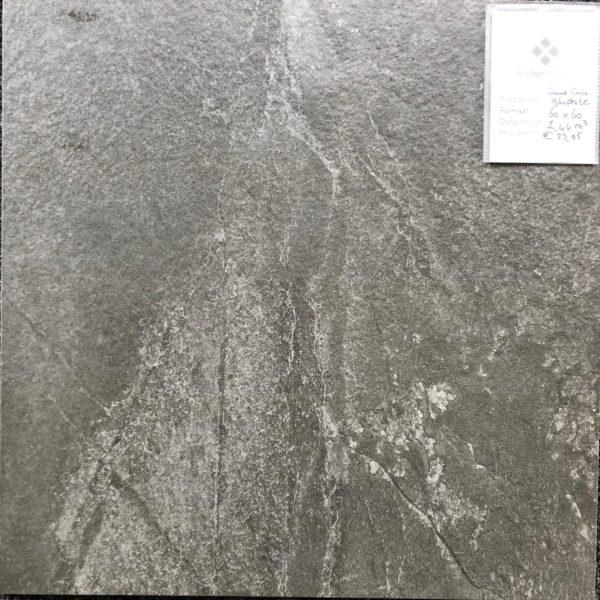 Grand cave Graphite 60x60 vloer en wandtegels